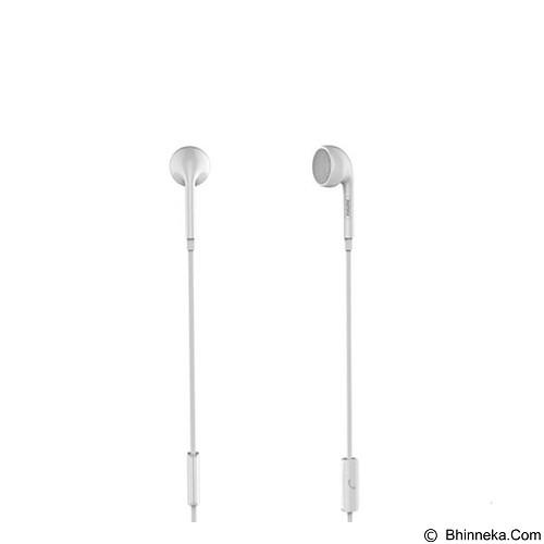 REMAX Single Side Earphone [RM-101] - White (Merchant) - Earphone Ear Monitor / Iem