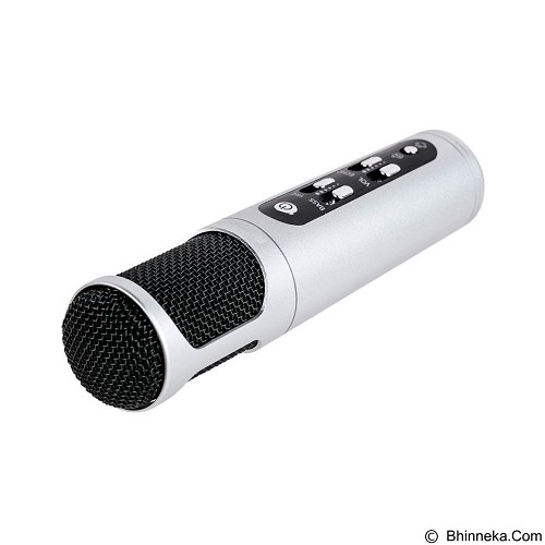 REMAX Singsong K Microphone [RMK-K02] - Black (Merchant) - Microphone Live Vocal