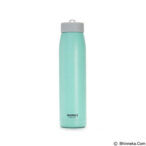 REMAX Sky Stainless Steel Thermos 320 ml [RCUP-07] - Green (Merchant) - Botol Minum