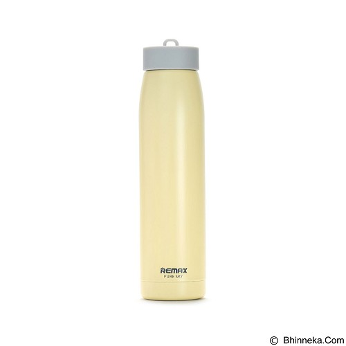REMAX Sky Stainless Steel Thermos 320 ml [RCUP-07] - Orange (Merchant) - Botol Minum
