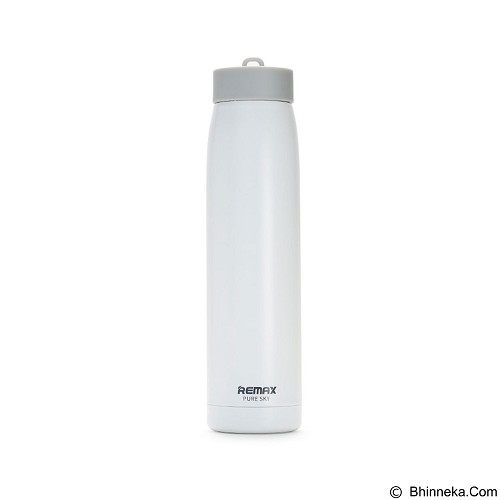 REMAX Sky Stainless Steel Thermos 320 ml [RCUP-07] - White (Merchant) - Botol Minum