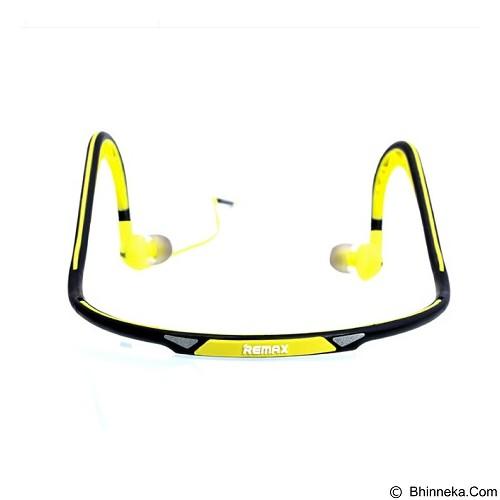 REMAX Sports Wired Headset [S15] - Green (Merchant) - Earphone Ear Monitor / Iem