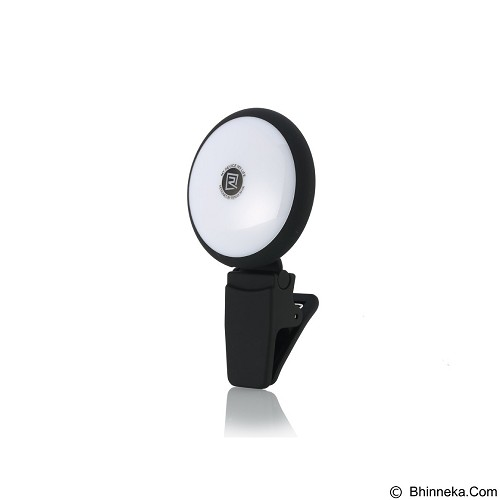 REMAX Twilight Selfie Spotlight Flash Nine Brightness - Black (Merchant) - Gadget Activity Device