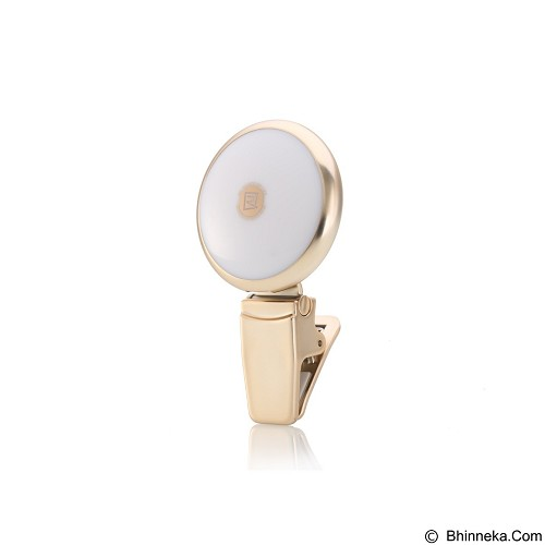 REMAX Twilight Selfie Spotlight Flash Nine Brightness - Gold (Merchant) - Gadget Activity Device