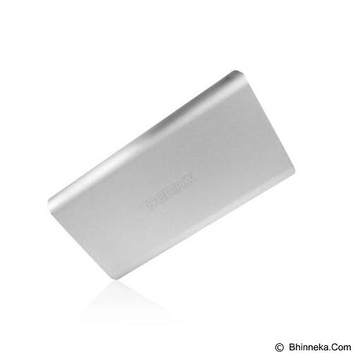 REMAX Vanguard Powerbank 10000mAh - Silver (Merchant) - Portable Charger / Power Bank