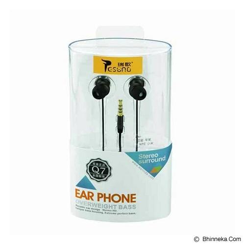 RESONG Earphone Q7 - Black - Earphone Ear Monitor / Iem