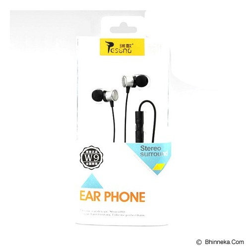 RESONG Earphone W9 - Black/Gray - Earphone Ear Monitor / Iem