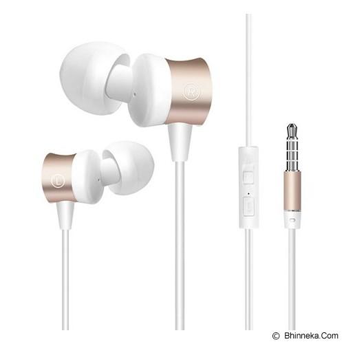 RESONG Earphone W9 - White/Gold - Earphone Ear Monitor / Iem