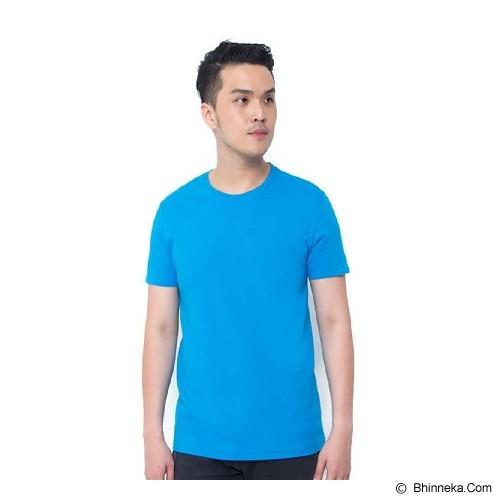 REXFORD Kaos Polos Pria Size L [005-TS.001] - Blue - Kaos Pria