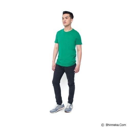 REXFORD Kaos Polos Pria Size L [005-TS.001] - Green - Kaos Pria