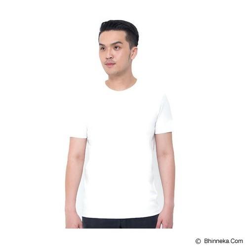 REXFORD Kaos Polos Pria Size M [005-TS.001] - Cream - Kaos Pria