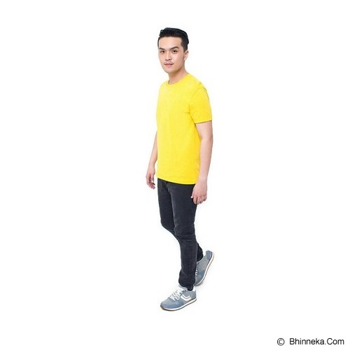 REXFORD Kaos Polos Pria Size M [005-TS.001] - Yellow - Kaos Pria