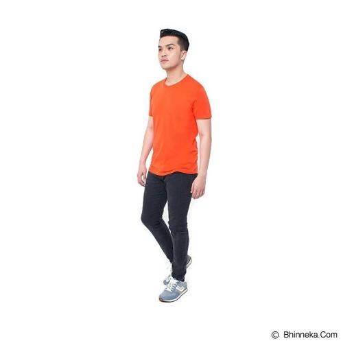 REXFORD Kaos Polos Pria Size S [005-TS.001] - Orange - Kaos Pria