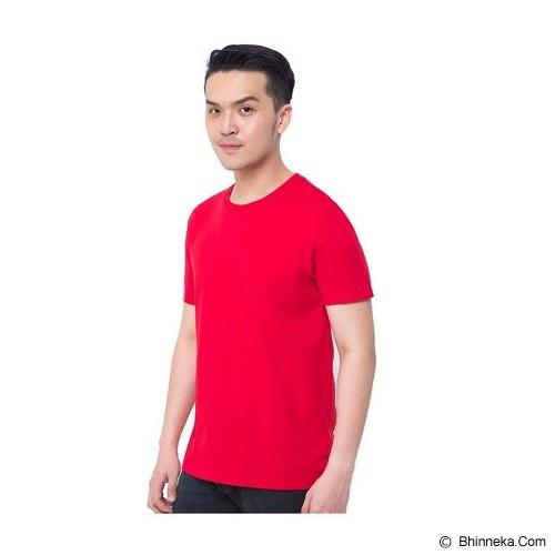 REXFORD Kaos Polos Pria Size S [005-TS.001] - Red - Kaos Pria