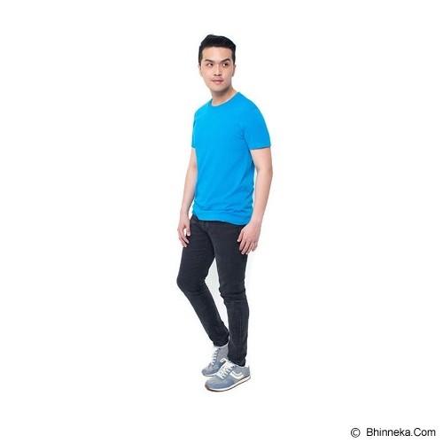 REXFORD Kaos Polos Pria Size XL [005-TS.001] - Blue - Kaos Pria