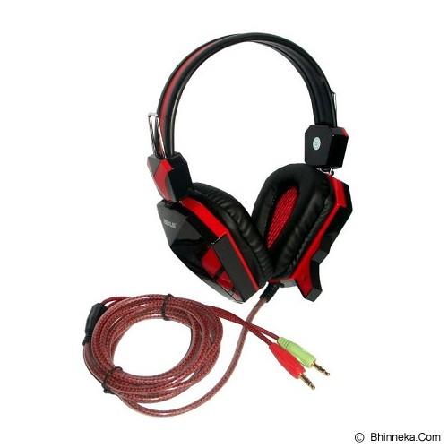 REXUS Gaming Headset [F22] - Red (Merchant) - Gaming Headset