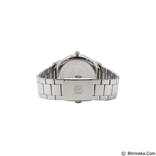 RHYTHM Jam Tangan Pria Stainless [GS1601S 01] - Silver White - Jam Tangan Pria Casual