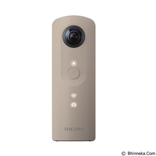 RICOH Theta SC Digital Camera - Beige (Merchant) - Camcorder / Handycam Flash Memory