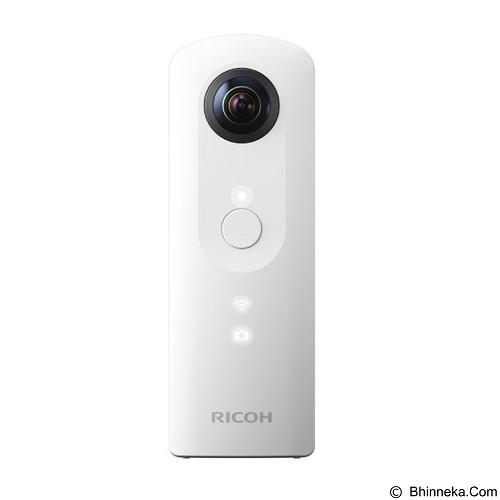 RICOH Theta SC Digital Camera - White (Merchant) - Camcorder / Handycam Flash Memory