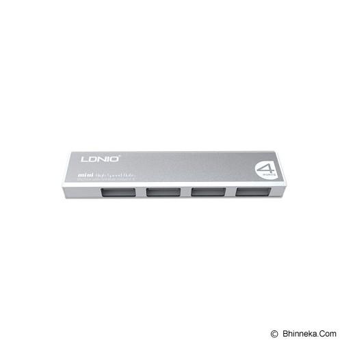 RIDISTA USB Hub LDNIO 4 Port [F248] - Silver - Cable / Connector USB