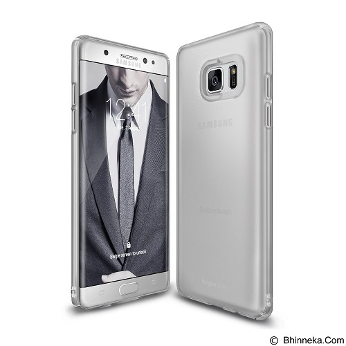RINGKE FUSION Slim Samsung Galaxy Note 7 Frost - Grey (Merchant) - Casing Handphone / Case