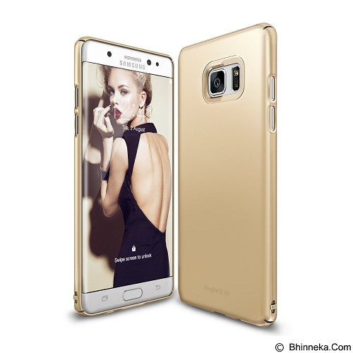 RINGKE FUSION Slim Samsung Galaxy Note 7 Frost - Royal Gold (Merchant) - Casing Handphone / Case