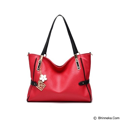 RIYOW VISUALSTORE Tas Wanita [BQ1454] - Red (Merchant) - Shoulder Bag Wanita