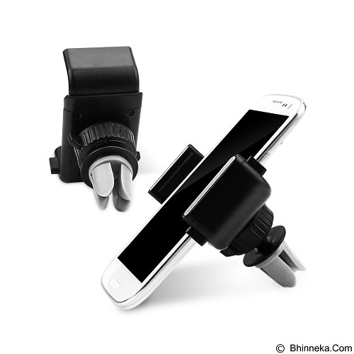 ROBOT Car Air Vent Stand Holder for iOS/Android [RT-CH04] - Black (Merchant) - Gadget Docking