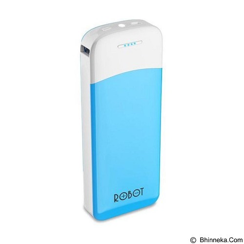 ROBOT Powerbank 13200mAh [RT400] - White (Merchant) - Portable Charger / Power Bank