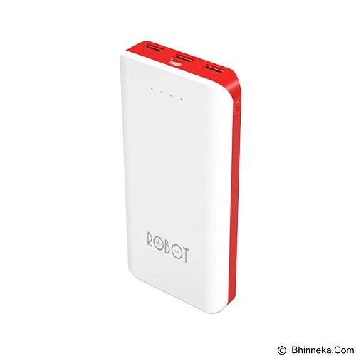 ROBOT Powerbank 20000mAh [RT800] - White - Portable Charger / Power Bank