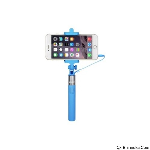 ROBOT Selfie Stick Cable for Android/iOS [RT-S02] - Blue (Merchant) - Gadget Monopod / Tongsis