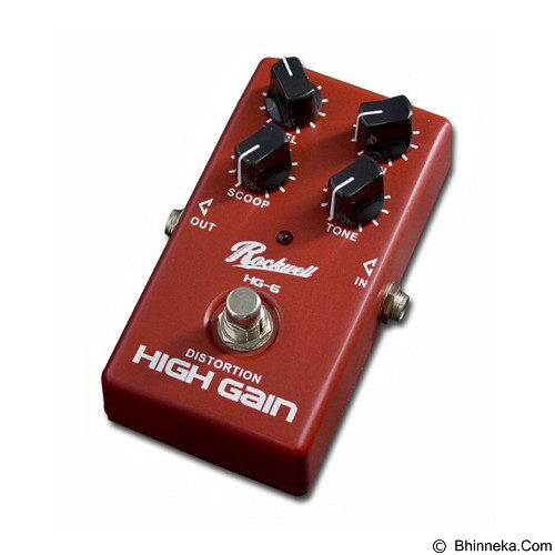 ROCKWELL Distortion High Gain HG-6 - Guitar Stompbox Effect