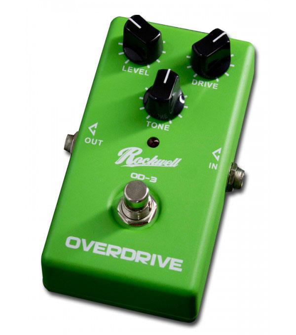 ROCKWELL OD-3 Overdrive - Gitar Stompbox Effect
