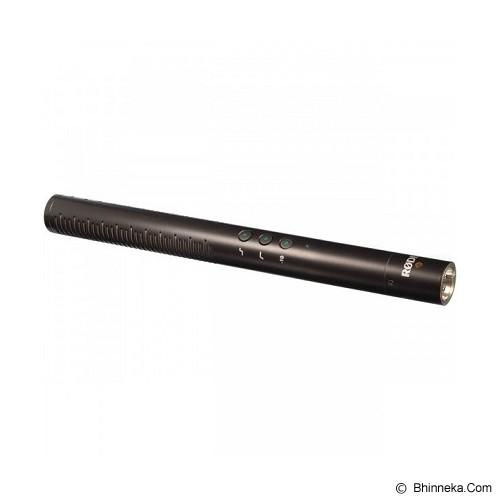 RODE Microphone Shotgun with Digital Switches [NTG4] - Microphone Condenser
