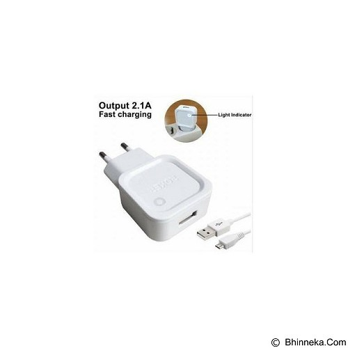 ROKER Travel Charger 2A Micro USB - White (Merchant) - Charger Handphone
