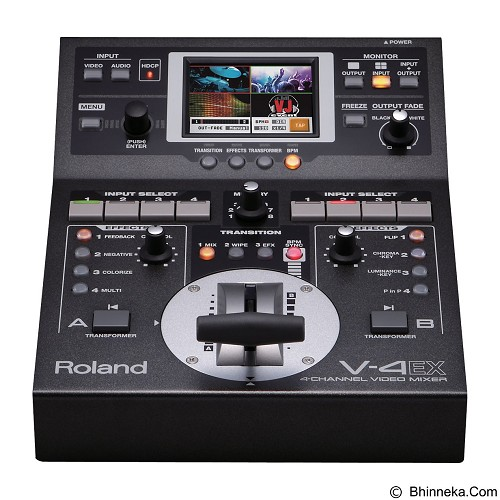 ROLAND Video Mixer with Effects [V-4EX] - Video Mixer