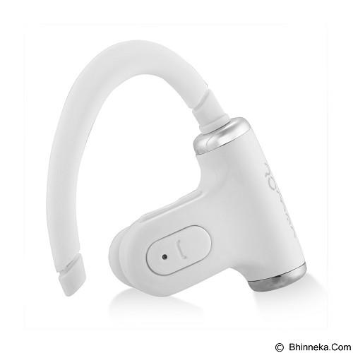 ROMAN Sports Double Ear Peices Wireless Bluetooth [S530] - White (Merchant) - Headset Bluetooth