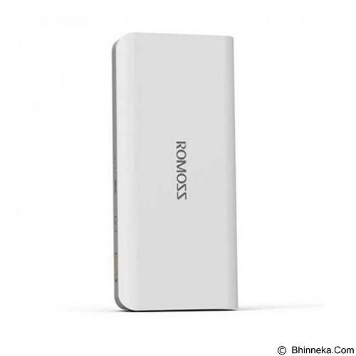 Romoss Powerbank Sense 4 10400mAh - White (Merchant) - Portable Charger / Power Bank
