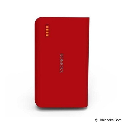 Romoss Powerbank Solo 3 6000mAh - Red (Merchant) - Portable Charger / Power Bank