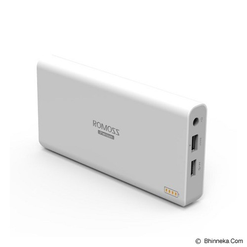 Romoss Sofun 6 eUSB 15600mAh - White - Portable Charger / Power Bank