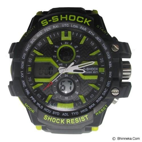 S-SHOCK Sport Watch [2168] - Yellow - Jam Tangan Pria Sport