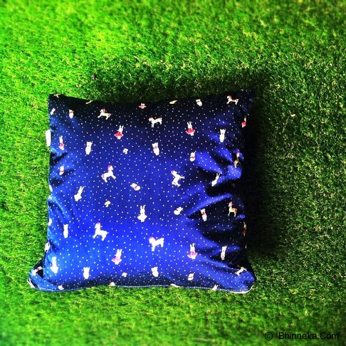 SADE.INDONESIA Cushion Cover - Rabbit blue - Sarung Bantal