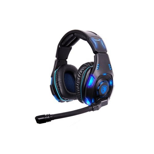 SADES Gaming Headset [SA-907] - Blue (Merchant) - Gaming Headset