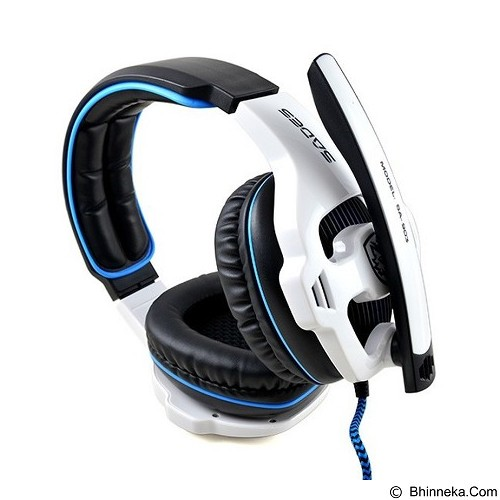 SADES Gaming Headset Sound Effect 7.1 [SA-903] - White (Merchant) - Gaming Headset