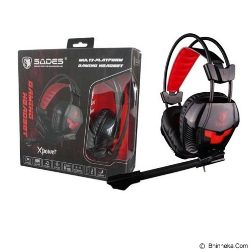 SADES X-POWER [SA-706] (Merchant) - Gaming Headset