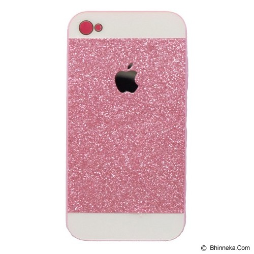 SAGA CASE ID Glitter Jelly iPhone 4/4S - Pink - Casing Handphone / Case