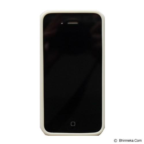 SAGA CASE ID Glitter Jelly iPhone 4/4S - Silver - Casing Handphone / Case