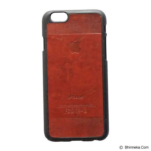 SAGA CASE ID Leather for iPhone 6 - Brick - Casing Handphone / Case