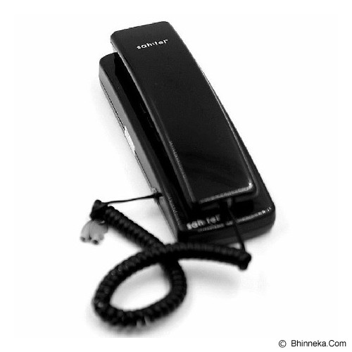 SAHITEL Corded Phone [S21] - Black - Corded Phone