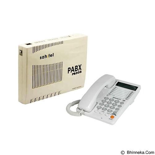 SAHITEL PBX PB308 + S75 (5 unit) - Pabx